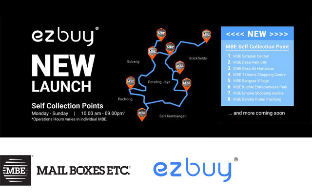 Mbe Ezbuy Self Collection Centre